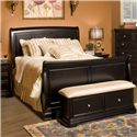 New Classic Maryhill Queen Sleigh Bed - Item Number: 2105-311+321+331