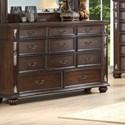 New Classic Maximus Triple Dresser - Item Number: B1754-050