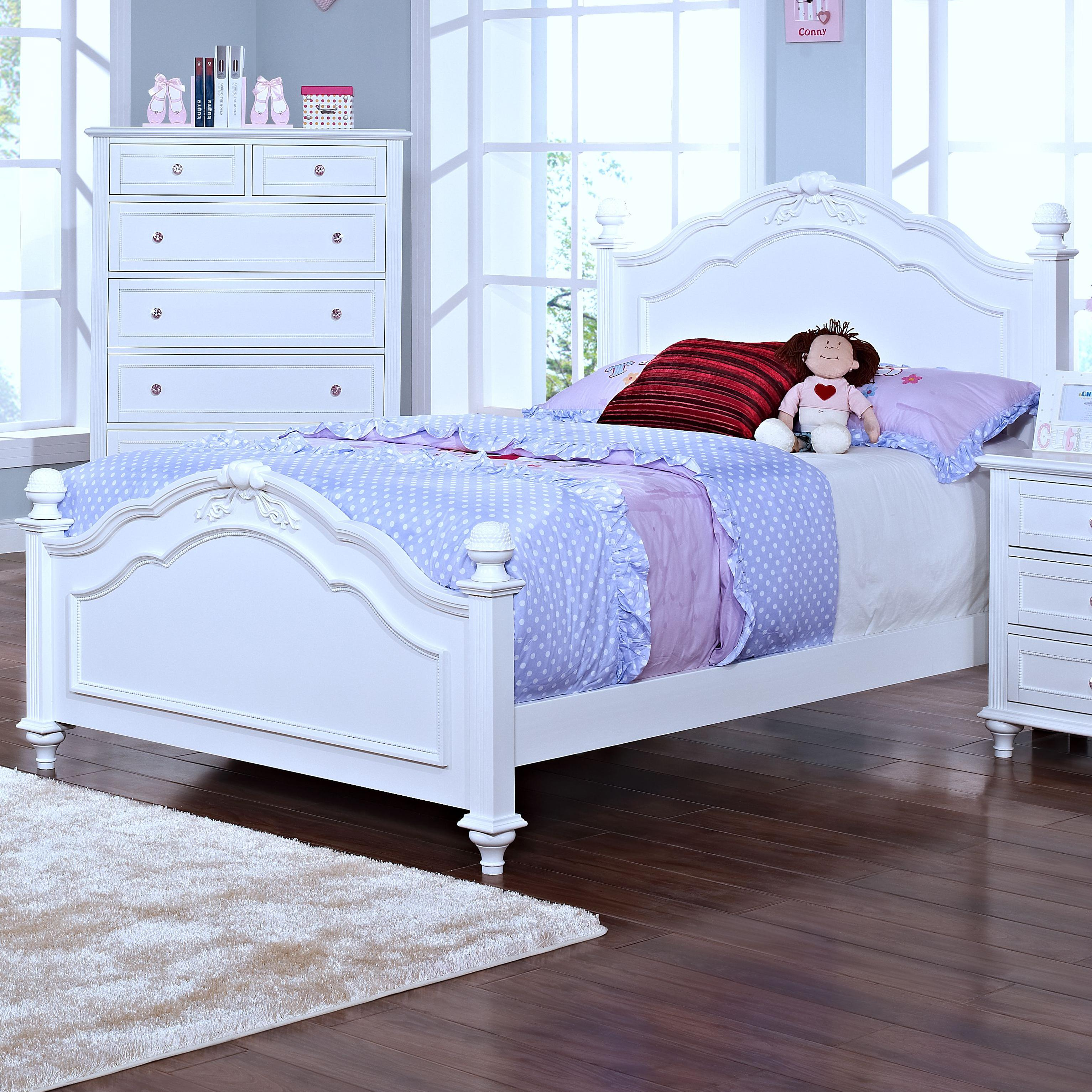 New Classic Megan Full Bed - Item Number: 05-242-410+420+430