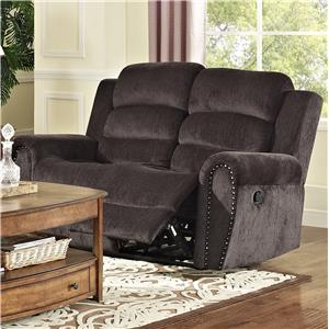 New Classic Merritt Reclining Loveseat