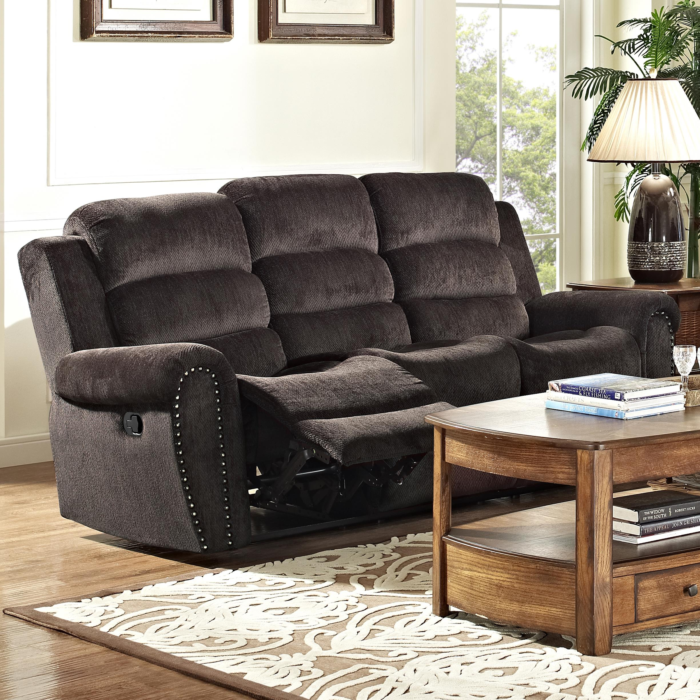 Merritt Casual Power Reclining Sofa With Full Chaise