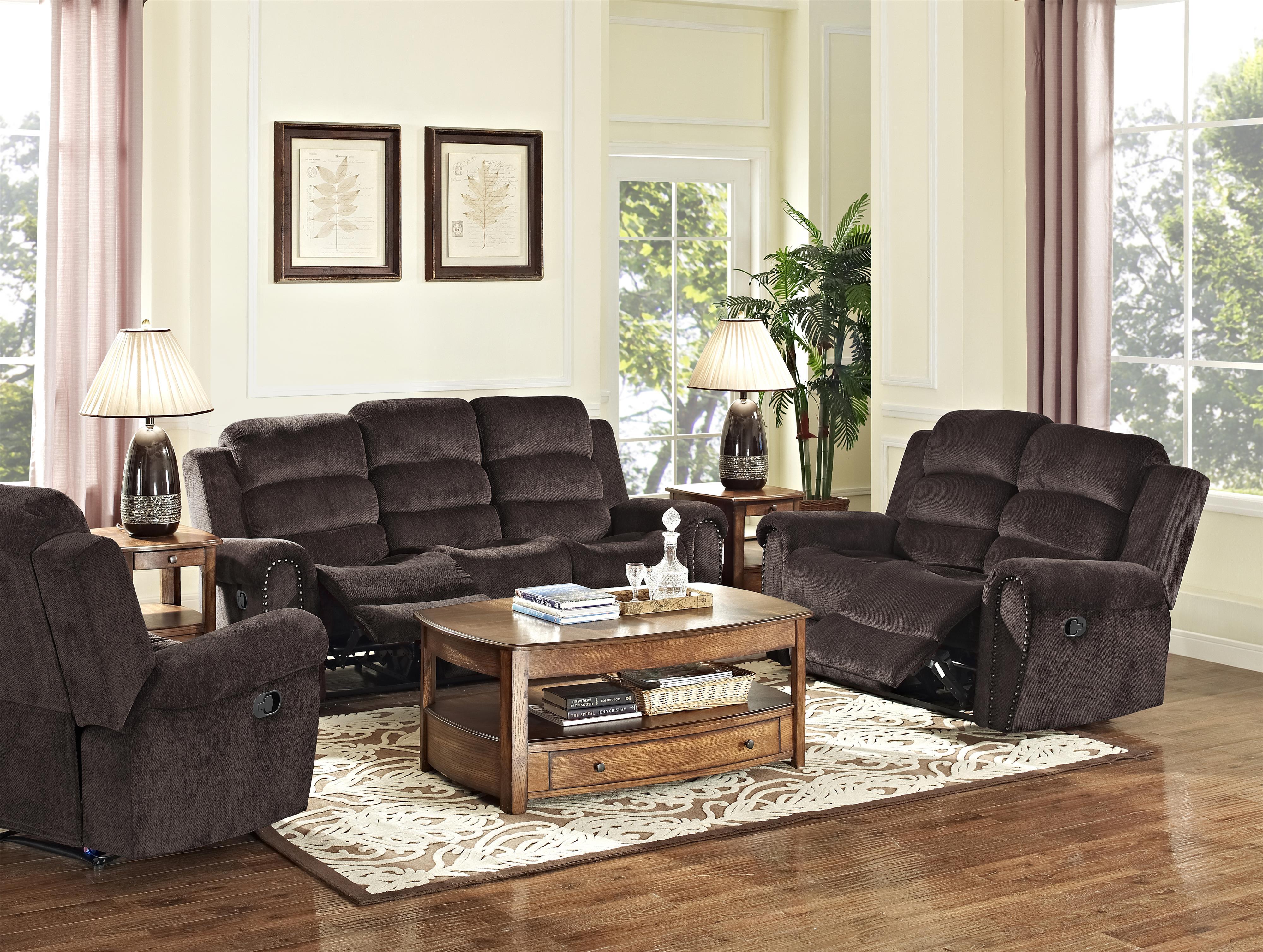 New Classic Merritt Reclining Living Room Group - Item Number: 2221 Reclining Living Room Group 1