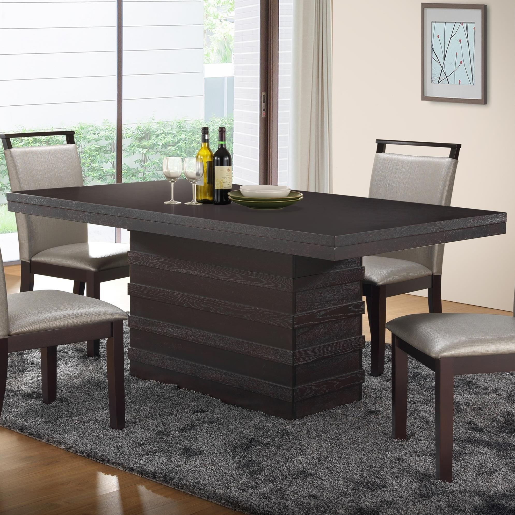 New Classic Natasha Boris Dining Table - Item Number: D3972-10W