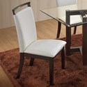 New Classic Natasha Boris Side Chair - Item Number: D3972-21WH