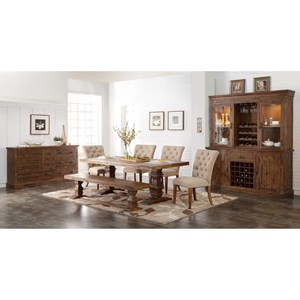 New Classic Normandy Formal Dining Room Group