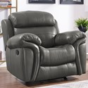 New Classic Paloma Power Glider Recliner - Item Number: L2655-13P-LGY