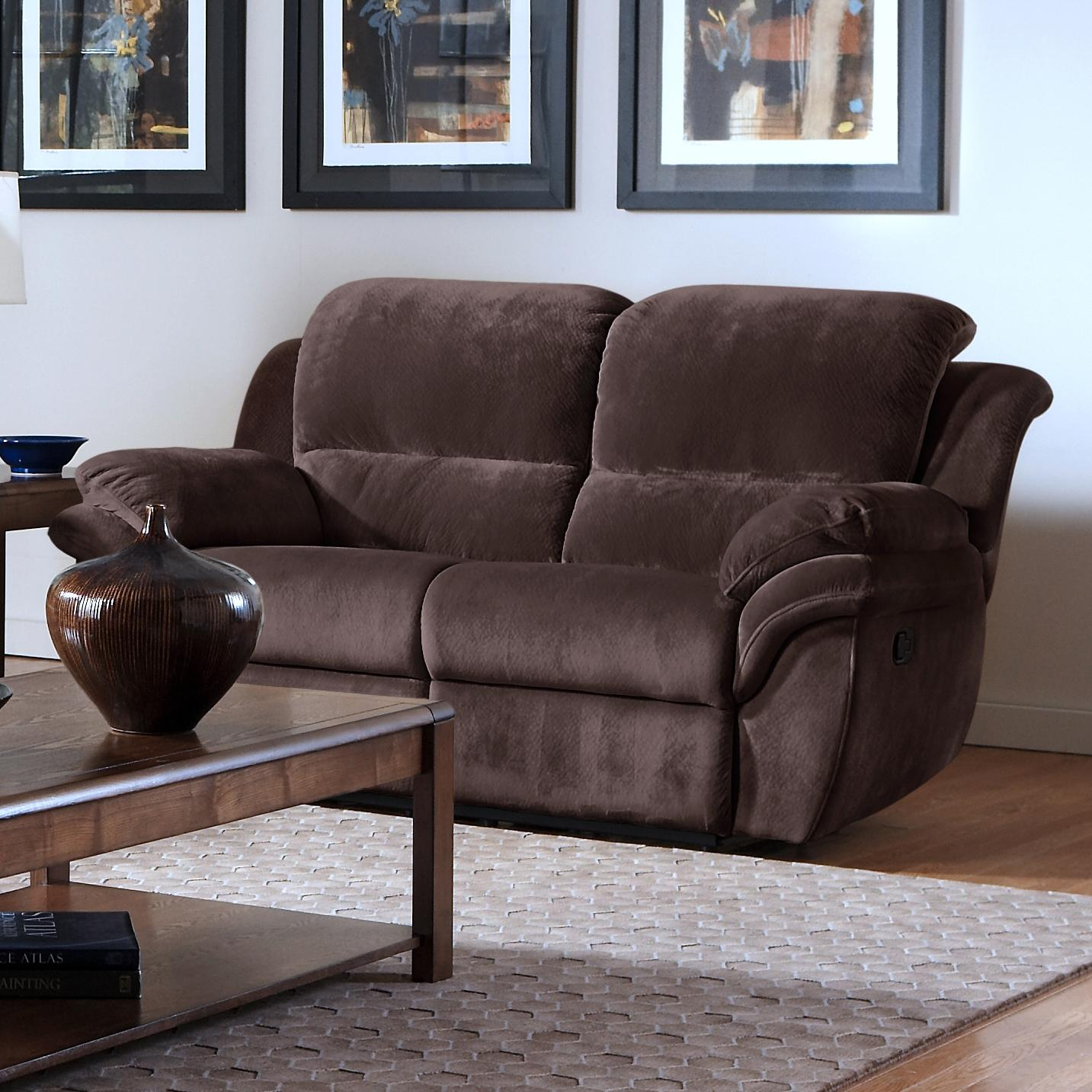 New Classic Pebble Reclining Love Seat - Item Number: 20-897-20-PSH