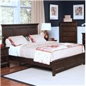 New Classic Prescott California King Headboard and Footboard Bed  - Item Number: 00-181-215+230