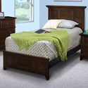 New Classic Prescott Twin Panel Bed - Item Number: 05-181-515+530