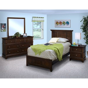 New Classic Prescott Twin Bedroom Group