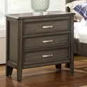 New Classic Richfield Smoke Nightstand - Item Number: 00-117S-040