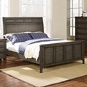 New Classic Richfield Smoke King Panel Bed - Item Number: 00-117S-110+120+130