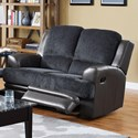 New Classic Rico Reclining Loveseat - Item Number: 20-2209-20-NVY