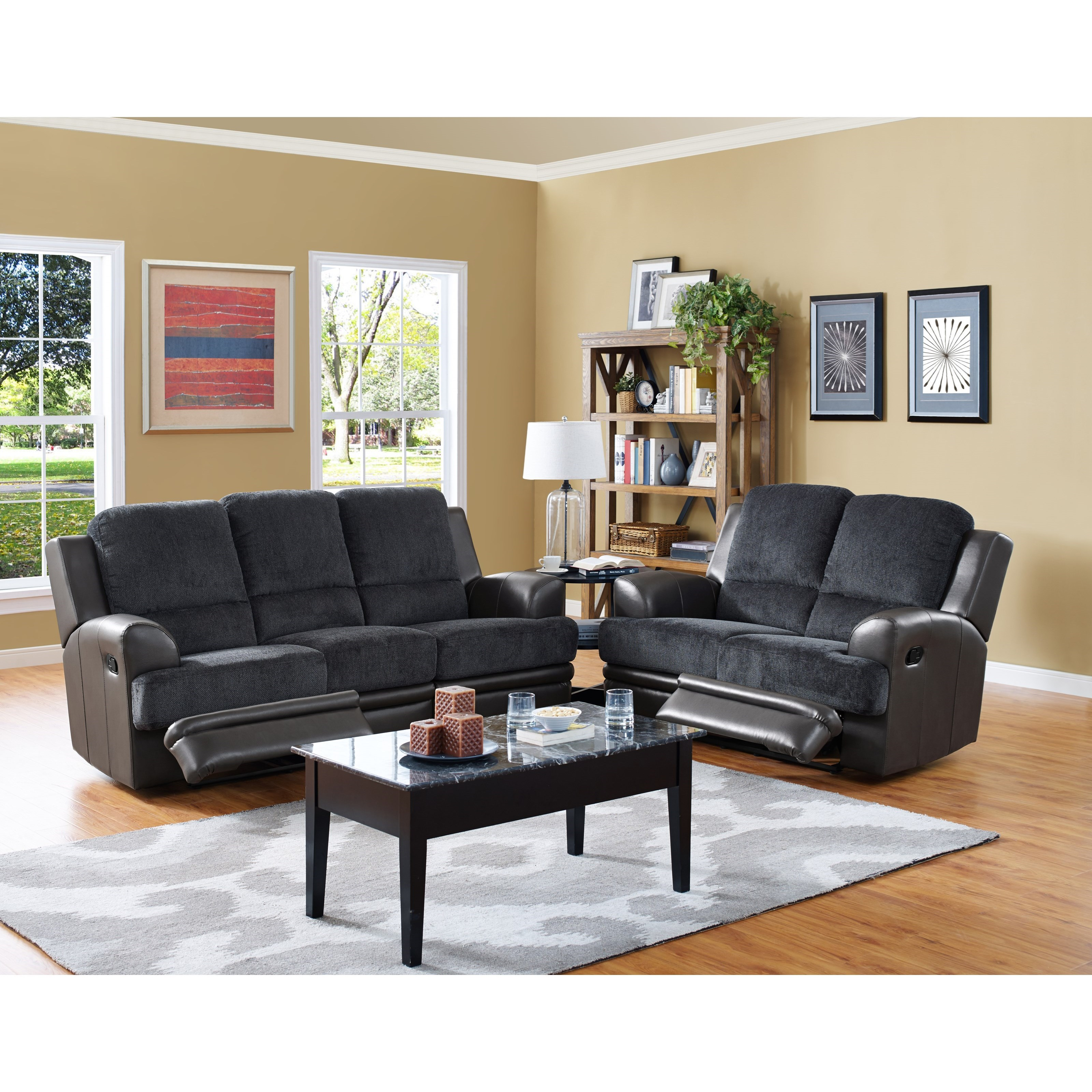 New Classic Rico Reclining Living Room Group - Item Number: 2209 Reclining Living Room Group 1