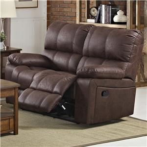 New Classic Riley Reclining Loveseat
