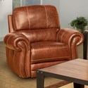 New Classic Rossi Power Glider Recliner - Item Number: L2652-13P-LBN