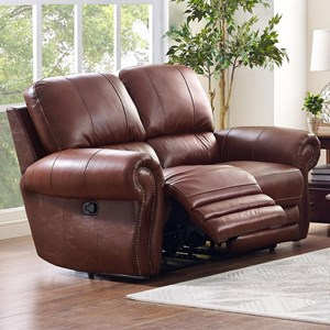 New Classic Rossi Power Loveseat