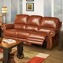 New Classic Rossi Dual Recliner Sofa - Item Number: L2652-30-LBN