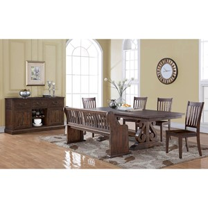 New Classic San Juan Formal Dining Room Group