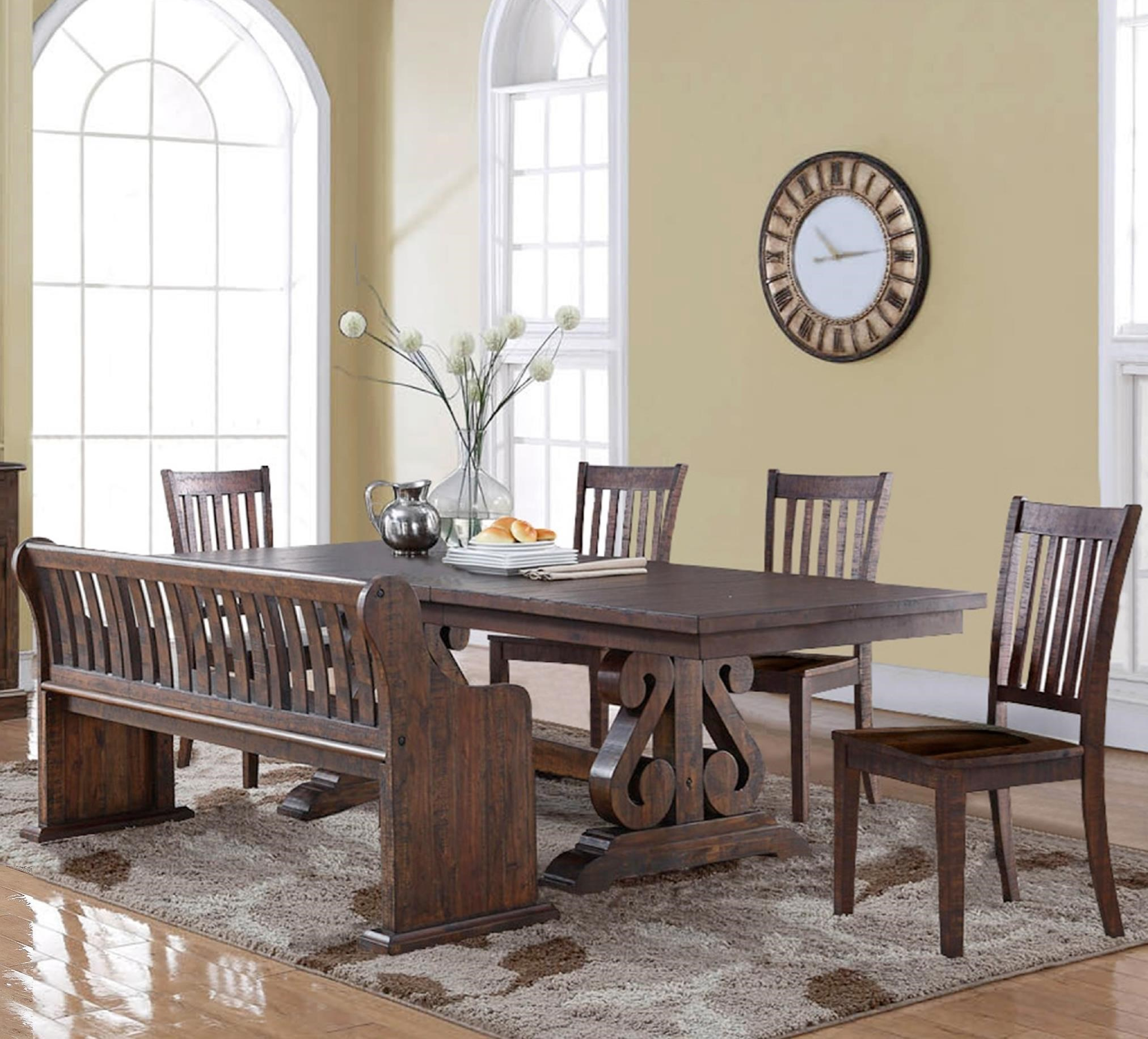 New Classic San Juan Six Piece Dining Table Set   Item Number: D2264 10