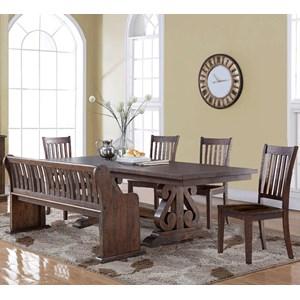 New Classic San Juan Six Piece Dining Table Set