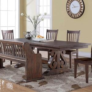 New Classic San Juan Trestle Dining Table