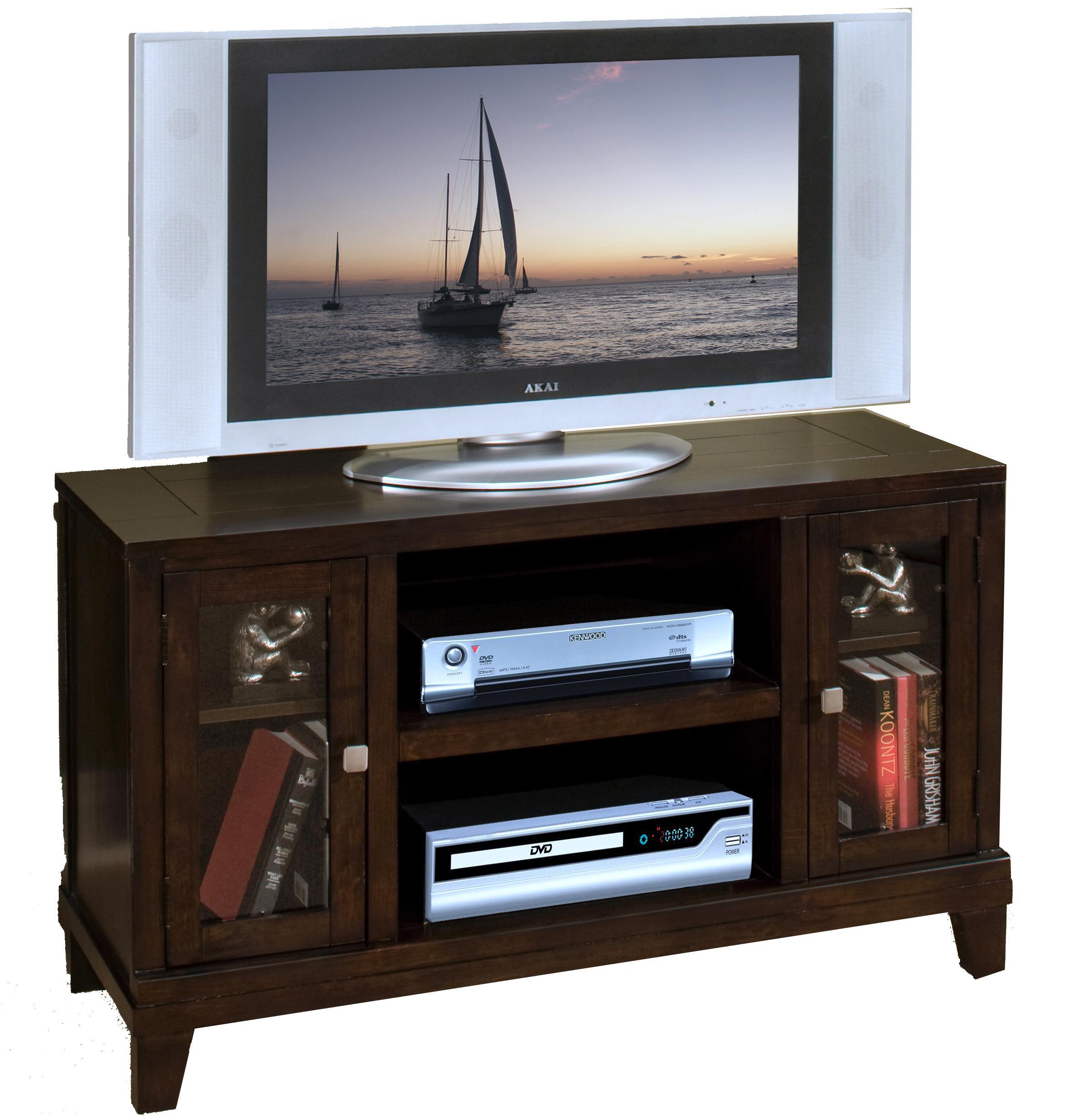 New Classic Sanibel  2-Door TV Console - Item Number: 10-004-10