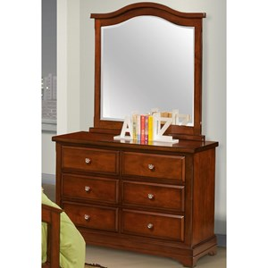 New Classic Seaside Youth Dresser and Mirror