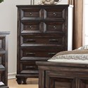 New Classic Sevilla Five Drawer Chest with Jewelry Tray