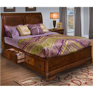 New Classic Sheridan King Bed with Storage