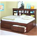 New Classic Sheridan Full Youth Lounge Bed  - Item Number: 05-005-412+432
