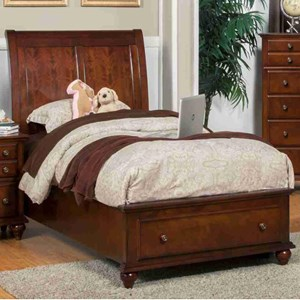 New Classic Spring Creek Full Low Profile Storage Bed