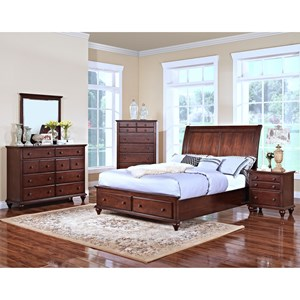 New Classic Spring Creek California King Bedroom Group