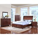 New Classic Spring Creek King Bedroom Group - Item Number: 146 K Bedroom Group 1