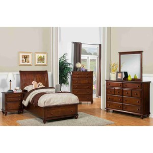 New Classic Spring Creek Twin Bedroom Group