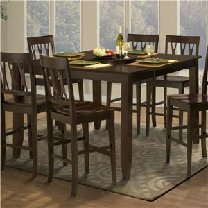 New Classic Style 19 Counter Height Dining Table