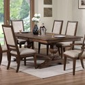 New Classic Sutton Manor Dining Table - Item Number: D1505-10