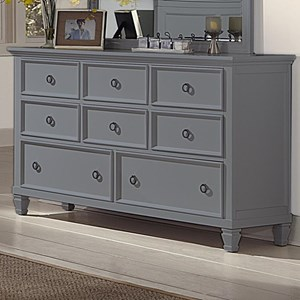 New Classic Tamarack 8-Drawer Dresser - 00-042-050