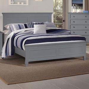 New Classic Tamarack King Panel Bed