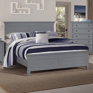 New Classic Tamarack Queen Panel Bed - 00-042-315+335