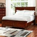 New Classic Tamarack Twin Panel Bed - Item Number: 00-043-515+535