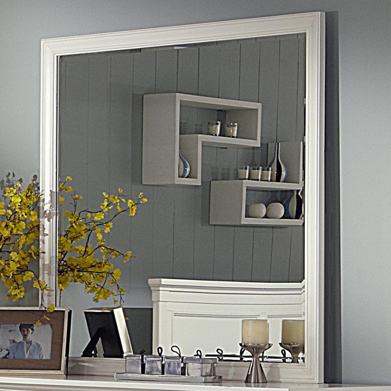 New Classic Tamarack Dresser Mirror - Item Number: 00-044-060