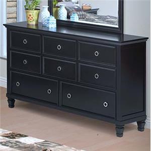 New Classic Tamarack 8-Drawer Dresser
