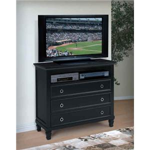 New Classic Tamarack 3-Drawer Media Chest