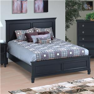 New Classic Tamarack Twin Panel Bed