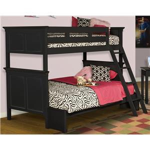 New Classic Tamarack Twin over Full Bunk Bed