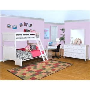 New Classic Tamarack Bunk Bed Room Group