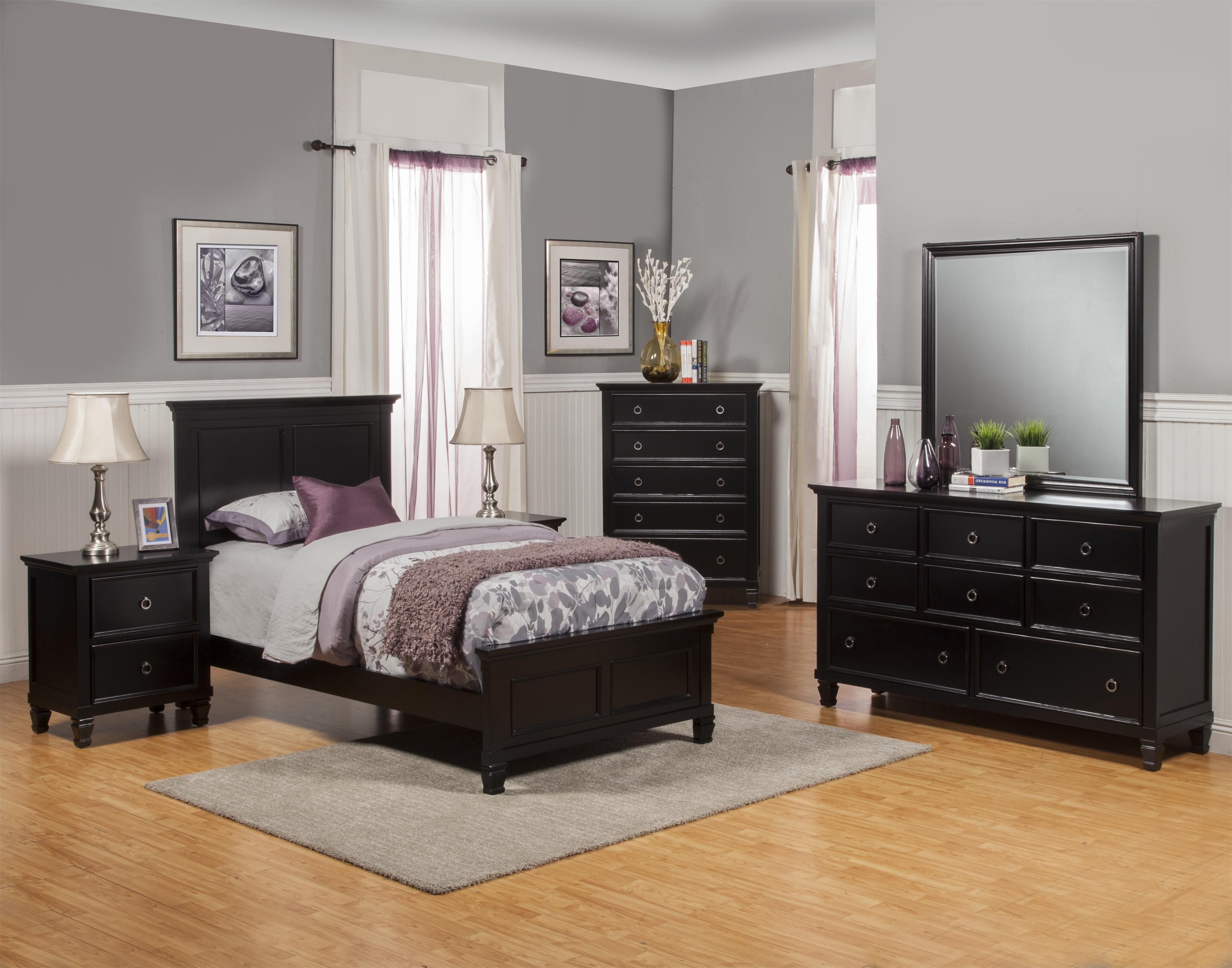 New Classic Tamarack Full Bedroom Group  - Item Number: 045 F Bedroom Group 1
