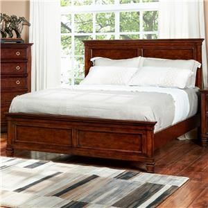 New Classic Tamarack Cherry Full Panel Bed