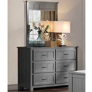 New Classic Taylor Youth Bedroom Dresser